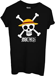 MUSH T-Shirt One Piece Rubber Cappello di Paglia - Cartoon by Dress Your Style