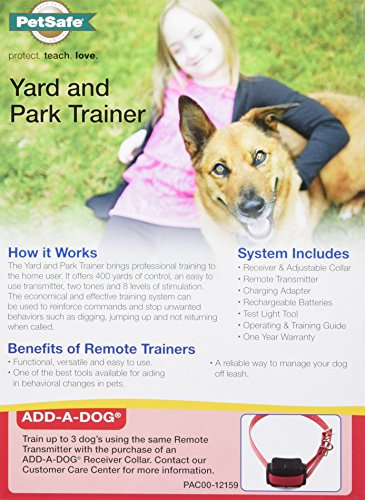 PetSafe Yard and Park Dog Training Collar: Best for Stubborn Dogs