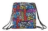Blackfit8 641846196 2018 Bolsa de Cuerdas para el Gimnasio 40 cm, Multicolor