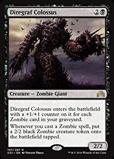 Magic The Gathering - Diregraf Colossus (107/297) - Shadows Over Innistrad