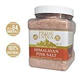 Pride Of India - Pure Himalayan Pink Salt - Enriched w/ 84+ Natural...
