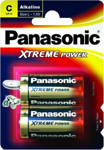 Panasonic LR14X/2BP - XTREME POWER - Pilas (Alcalino, 1.5 V, 69.5 g, C)
