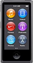 Music Player iPod Nano 7th Generation 16gb Space Grey Packaged in Plain White Box