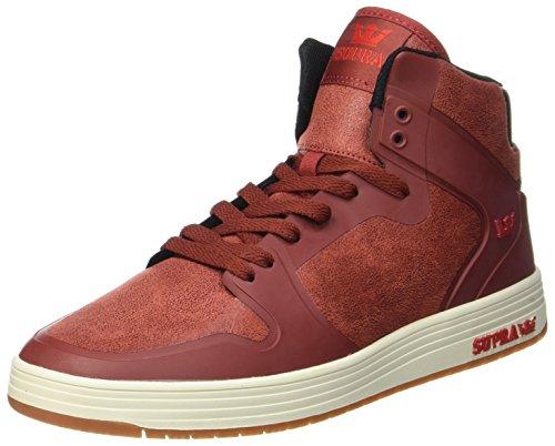Supra Herren Vaider 2.0 Sneaker, Rot (Brick-Bone), 43 EU