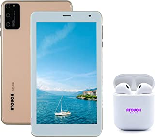 S05 PRO Kids Android 8.1 Smart Tablet with 7-Inch Display, 64GB, 4GB RAM, Face Recognition, Dual Sim, 4G LTE, Bluetooth, W...
