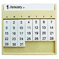 スレンシル カレンダー オールウェイズ 卓上 アイボリー TD-406