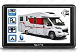GPS Camping Car 7 Pouces HD Europe Gratuite A Vie Aires DE Camping en Temps réel