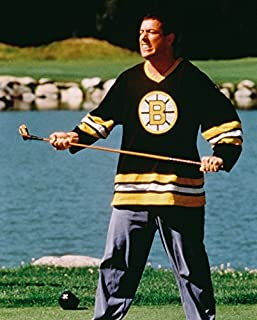 Erthstore 16x20 inch Fine Art Poster of Adam Sandler Happy Gilmore Iconic with Golf Club On Course