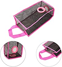 CONNECTWIDE Polyester Folding Trash Bag Holder (Pink)