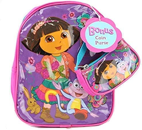 Dora Mini Backpack 10 with Coin Purse Purple product image