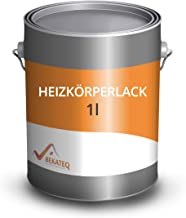 BEKATEQ Radiatorlak BE-903 hittebestendig - 1l zwart