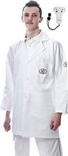 ND Sports Traditional Style Cricket Umpires Coat Large With Counter, White