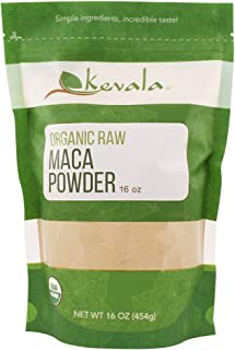 Kevala Organic Raw Maca Powder 1lb