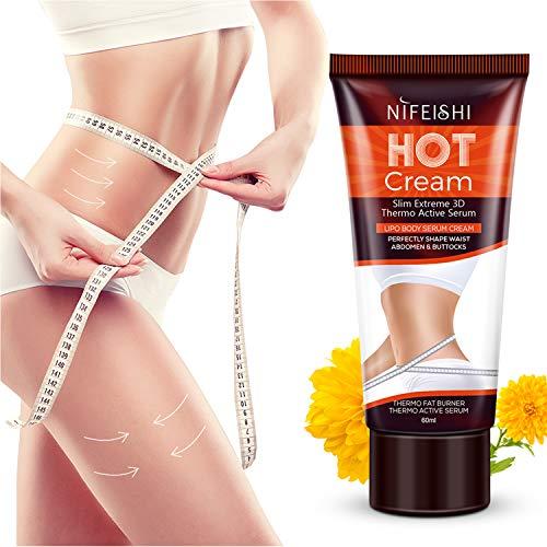 Hot Cream, Fat Burner Sweat Cream -Slimming Cream for Weight Loss, Body Fat Burning Cream for...