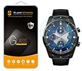(2 Pack) Supershieldz for TicWatch Pro S, TicWatch Pro 2020, TicWatch Pro 4G LTE and TicWatch Pro Tempered Glass Screen Protector, (Full Screen Coverage) Anti Scratch, Bubble Free