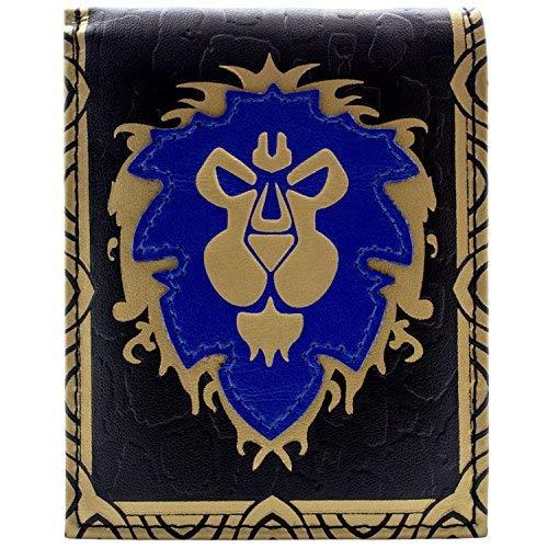 Cartera de World of Warcraft Alliance Faction Logo Azul