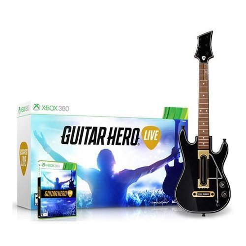 Guitar Hero Live Bundle (Xbox 360) Guitar and Game