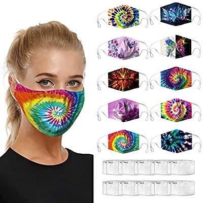 Adult+Face+Mask+Washable+Reusable, Face Mask Adult Youth Face Covering, Cooling Multifunctional Dust Wind UV Protection from SUNNM