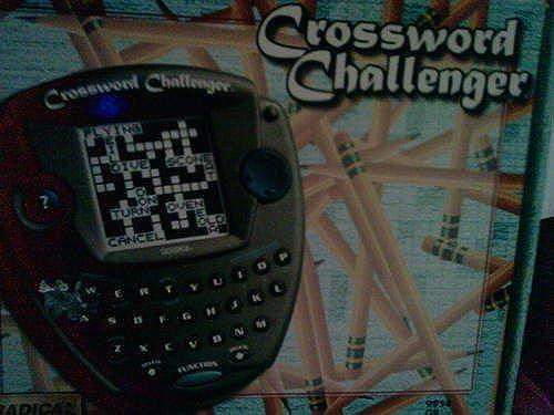 promociones de descuento Crossword Challenger Game by Radica Game Co (English Manual) Manual) Manual)  Más asequible