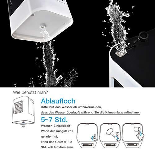 USB Luftkühler Mobil Anbber Air Cooler Bild 4*
