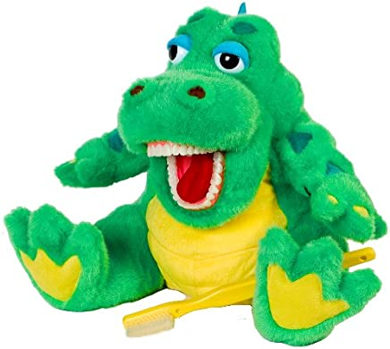 StarSmilez Oral Health Presentation Puppet Al E Gator Educational Plush