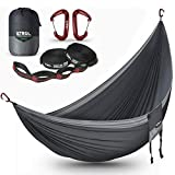 ETROL Hamac Double Camping Hamacs Portables légers pour Parachute pour Les Voyages, Les randonnées...