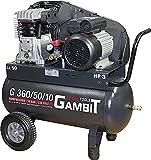 Gambit Tools Profi Kompressor G 360/50/10 2,2kw 10 bar 50 Liter fahrbar Werkstatt Industrie...