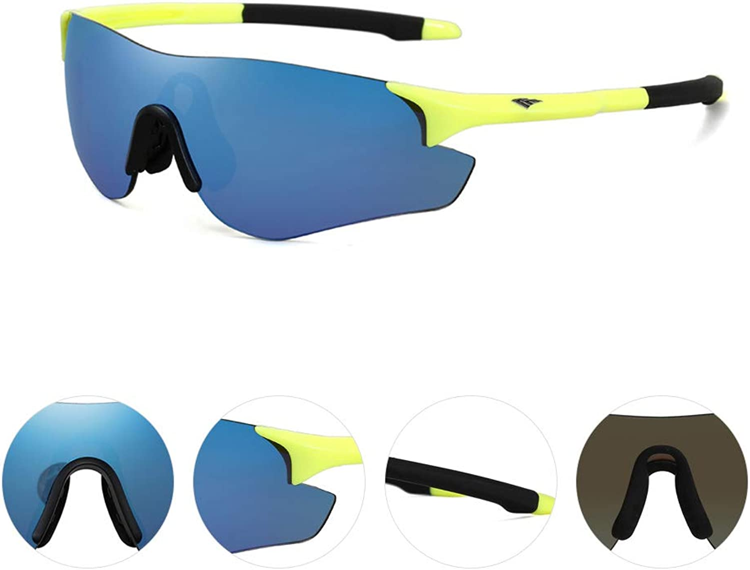 Gao Te outdo Marathon running glasses equipped sports glasses windproof eyes men and women outdoor sunglasses GT61003