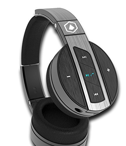 Black Friday Deals, Premium, Bluetooth Headphones - HIFI ELITE Super66 - Portable, Wireless, Noise-Isolating, Over-Ear : Hi-Fidelity Audio, Deep Rich Bass, Microphone, Long Battery Life, Wired Option