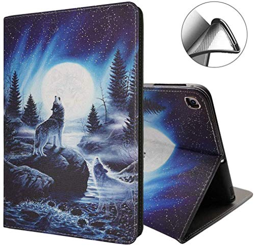 New iPad 10.2 Case 2019. Premium Shockproof Case with Auto Sleep/Wake Feature for iPad 10.2 inch 7th Generation, Wolf Roar