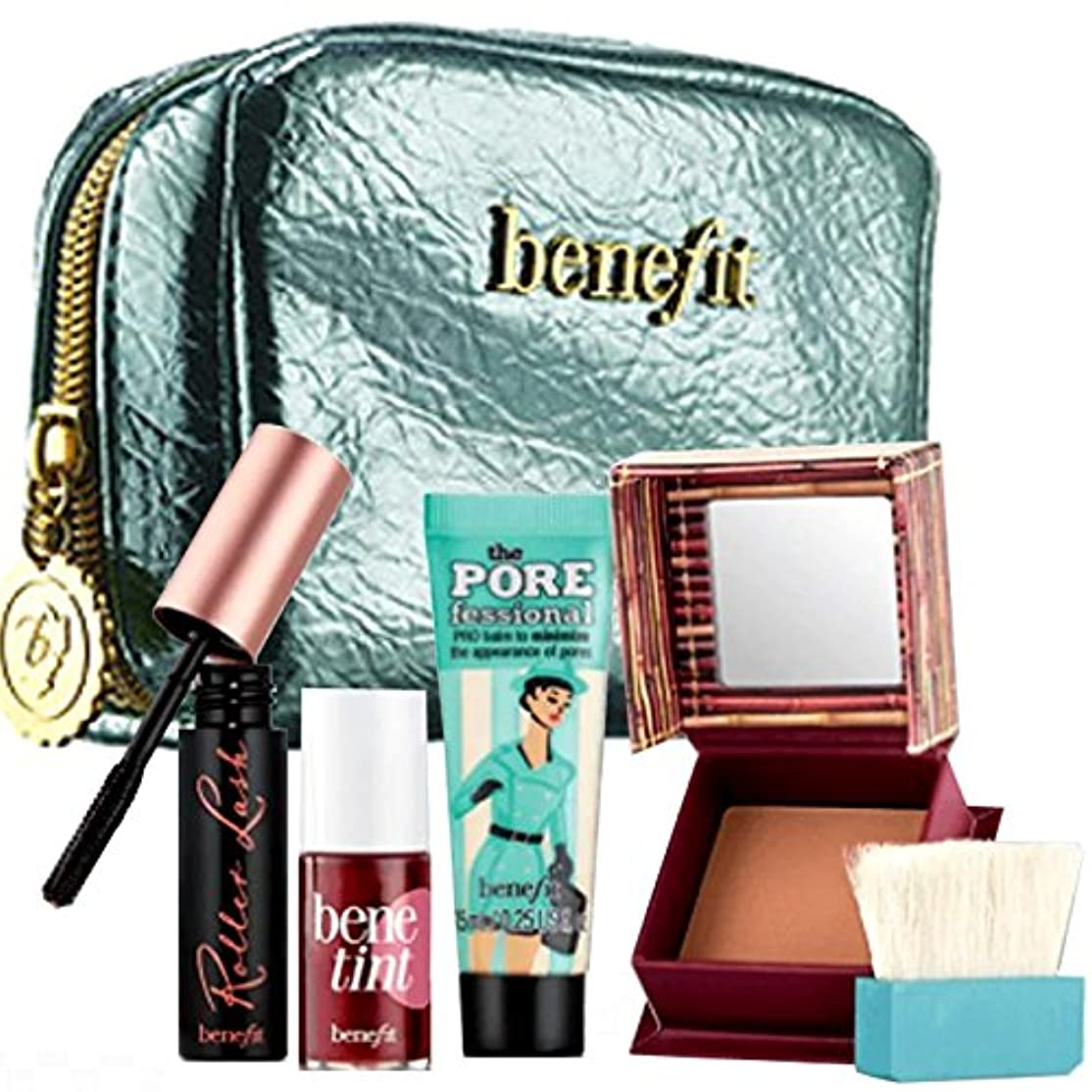 ビジョンボウリングアラスカBenefit(ベネフィット),限定版, Benefit Cosmetics, Work Kit, Girl! Work-Day Essentials Makeup Kit [海外直送品] [並行輸入品]