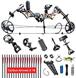 XGEEK Compound Bow,Compound Hunting Bow Kit, Right Handed Bow,Limbs Made in...