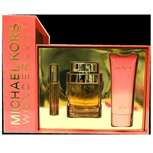 Michael kors - michael kors wonderlust eau de perfume spray 100ml set 3 parti 2018