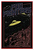 Close Up FOO Fighters Poster UFOs (94x63,5 cm) gerahmt in: