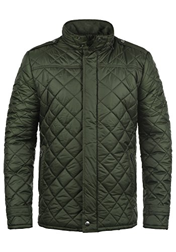 !Solid Safi Herren Steppjacke Übergangsjacke Jacke gefüttert mit Stehkragen, Größe:M, Farbe:Rosin (3400)