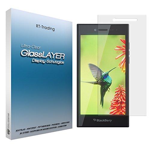BlackBerry Leap - Schutzglas Panzerglas Bildschirm Glasfolie Folie Glas Schutzfolie Bildschirmfolie 9H Stärke 0,3mm dünn - RT-Trading