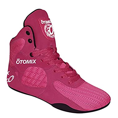 Otomix Pink & Black Stingray Escape Bodybuilding Weightlifting MMA & Boxing Shoes (9)