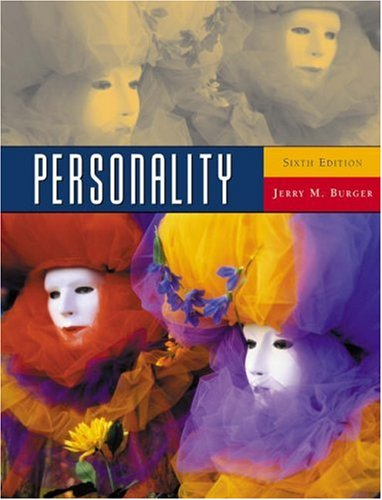 Personality (with InfoTrac) (Available Titles CengageNOW)