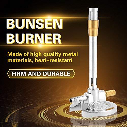 Mechero Bunsen duradero, 1 Uds, Mechero Bunsen de propano líquido resistente al...