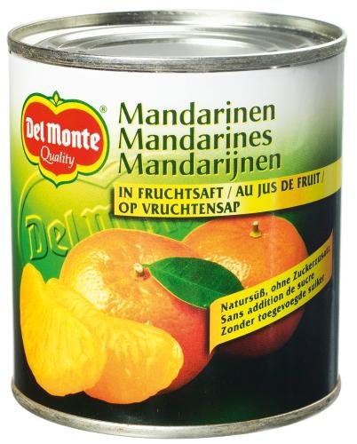 Del Monte Mandarin-Orangen leicht gezuckert, 12er Pack (12 x 314 ml Dose)