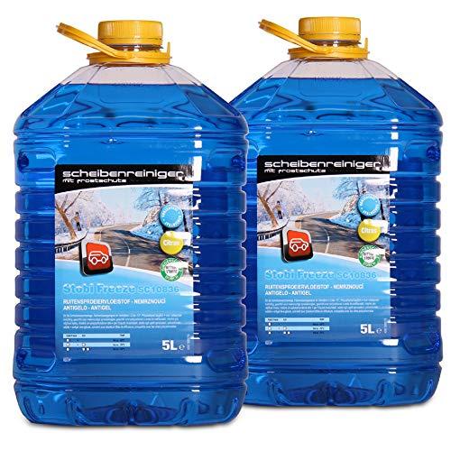 A&G-heute Stobi Freeze 10 Liter Konzentrat -60°C 2x5l Frostschutzmittel für die Scheibenwaschanlage Scheibenreiniger Scheibenwaschwasser