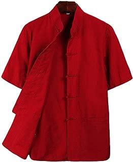 ZooBoo Tai Chi Clothing Wing Chun Kung Fu Clothes Short Sleeves Tang Shirt