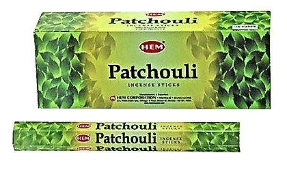YesMandala Incienso Hem - Patchouli - 6 Cajas de 20 Varillas