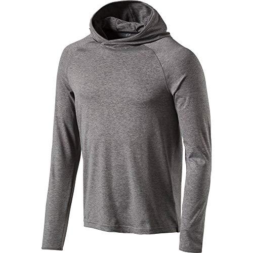 Pro Touch Cali - Camiseta de Manga Larga con Capucha para Hombre, Todo el año, Hombre, Color Melange/Black, tamaño Large