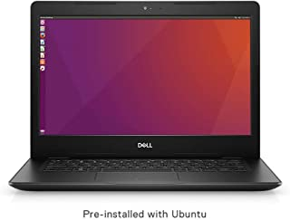Dell Vostro 3480 14-inch Thin and Light Laptop (8th Gen Intel Core i3 8145U/4GB/1TB HDD/Ubuntu/Intel HD 620 Graphics), Black