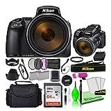 Nikon COOLPIX P1000 16MP 125x Optical Zoom Digital Camera (26522) USA Model Deluxe...