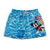 Disney Costume Mare Ufficiale Mickey Mouse Pantaloncino Shorts Bambino 3134 Azzurro 8 Anni