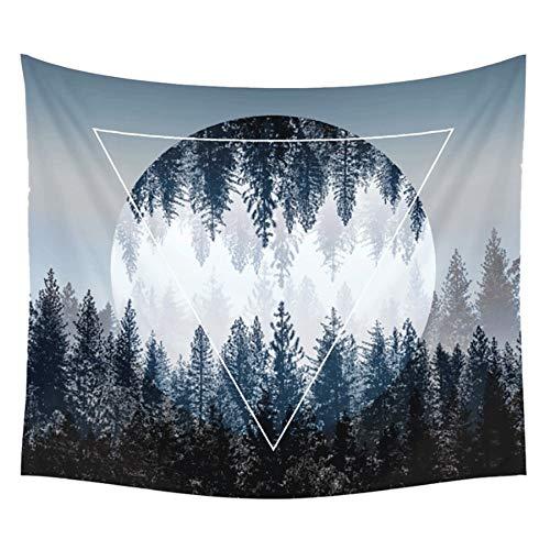 YANGYUAN Tapices colgados de la pared fresca del tono natural de la Selva y la decoración del arte puesta del sol decoración de la pared principal de la sala de estar dormitorio regalo de la decoració
