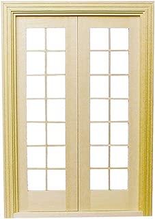 Houseworks, Ltd. Dollhouse Miniature Classic French Doors