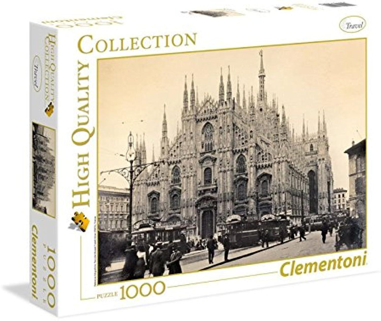 Clementoni 39292.6 - 1000 T Collection Mailand 1910-1915, Klassische Puzzle